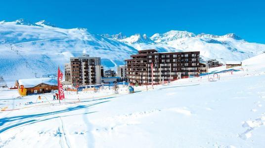Vacances en montagne Résidence le Hameau du Borsat - Tignes - Extérieur hiver