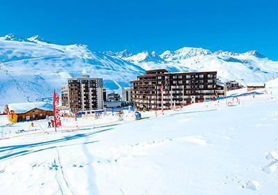 Location au ski Residence Le Hameau Du Borsat - Tignes - Extérieur hiver