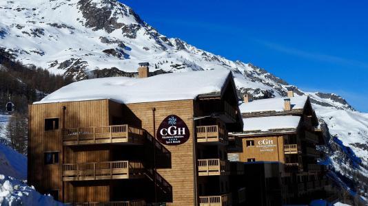 Vacances en montagne Résidence le Lodge des Neiges - Tignes - Extérieur hiver