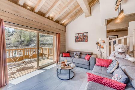 Location au ski Appartement duplex 4 pièces 8 personnes (12P) - Résidence le Lodge des Neiges C - Tignes