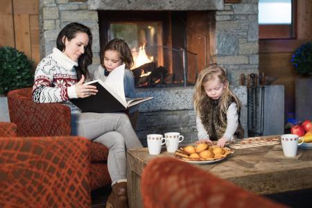 Rent in ski resort Résidence le Lodge des Neiges - Tignes - Fireplace