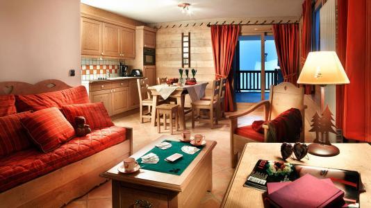 Rent in ski resort Résidence le Névada - Tignes - Living room