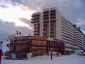 Skiverleih Résidence le Palafour - Tignes - Draußen im Winter