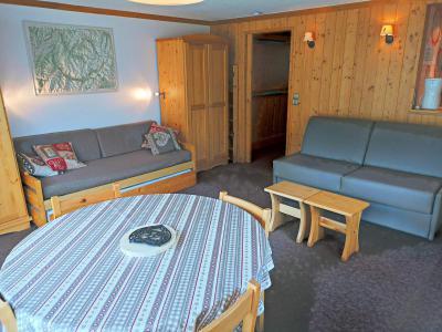 Location au ski Studio coin montagne 4 personnes (708) - Résidence le Palafour - Tignes - Séjour