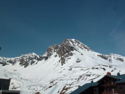 Location au ski Studio 4 personnes (029) - Résidence le Pramecou - Tignes - Extérieur hiver