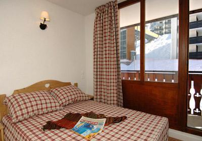 Location au ski Residence Le Rond Point Des Pistes - Tignes - Chambre