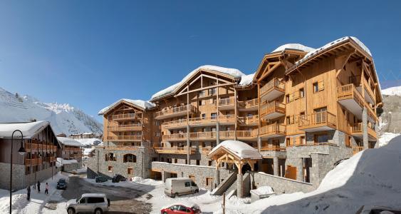 Location au ski Résidence le Télémark - Tignes - Extérieur hiver