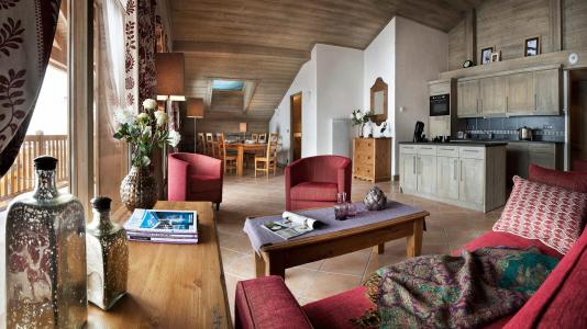 Rent in ski resort Résidence le Télémark - Tignes - Living room
