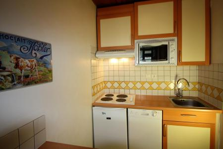 Rent in ski resort 2 room apartment 4 people (A6CL) - Résidence les Roches Rouges A - Tignes - Kitchenette