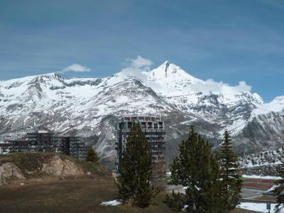 Location au ski Residence Les Roches Rouges A Ou B - Tignes - Extérieur hiver