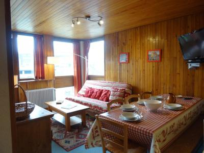 Location au ski Appartement 4 pièces 8 personnes - Residence Les Roches Rouges A Ou B - Tignes - Extérieur hiver