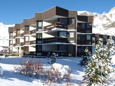 Location au ski Résidence les Roches Rouges A ou B - Tignes - Extérieur hiver