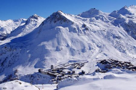 Rent in ski resort Résidence les Roches Rouges B - Tignes - Winter outside