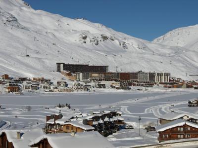 Location au ski Residence Les Volnets V - Tignes - Extérieur hiver
