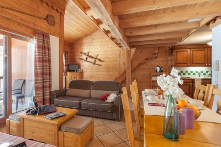 Rent in ski resort Résidence P&V Premium l'Ecrin des Neiges - Tignes - Living room
