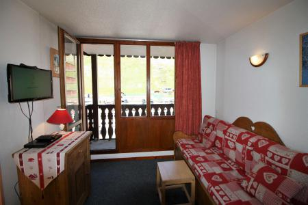 Rent in ski resort Studio cabin 4 people (106CL) - Résidence Rond Point des Pistes - Tignes - Sofa-bed