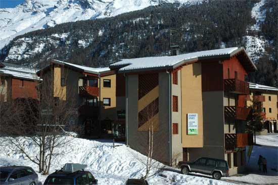 Location au ski Appartement 2 pièces 4 personnes (014) - Residence Burel - Val Cenis - Extérieur hiver