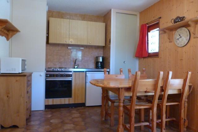 Location au ski Studio coin montagne 4 personnes (094) - Residence Chevallier - Val Cenis - Coin repas