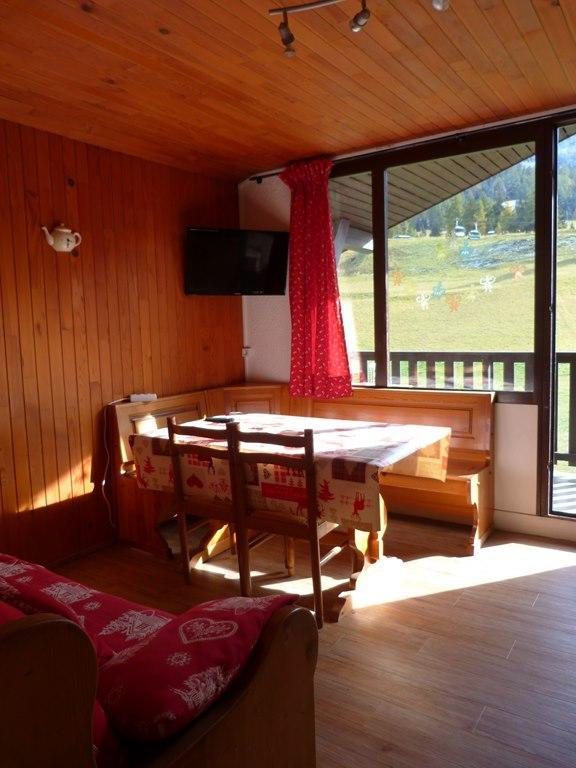 Location au ski Appartement 2 pièces 4 personnes (053) - Residence Colombaz - Val Cenis - Coin repas