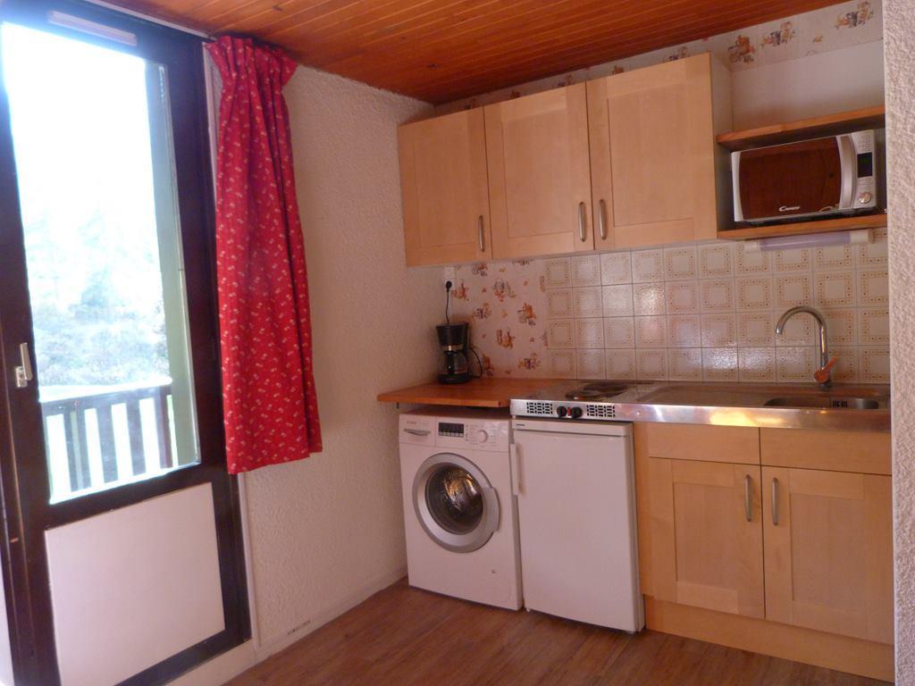 Location au ski Appartement 2 pièces 4 personnes (053) - Residence Colombaz - Val Cenis - Kitchenette