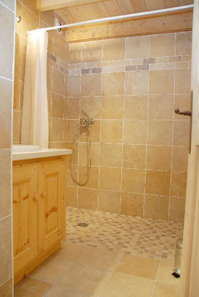 Location au ski Appartement 4 pièces mezzanine 10 personnes - Residence Jorcin Lanslebourg - Val Cenis - Salle de bains