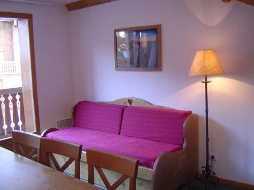 Location au ski Appartement 3 pièces cabine 8 personnes - Residence Lagrange Les Valmonts De Val Cenis - Val Cenis - Séjour