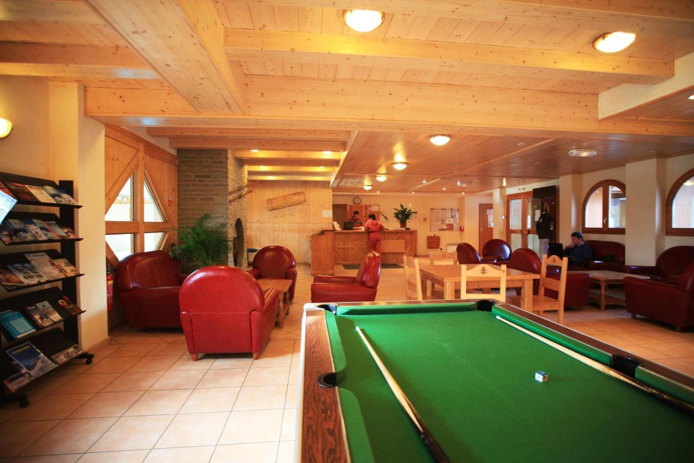 Location au ski Residence Lagrange Les Valmonts De Val Cenis - Val Cenis - Billard