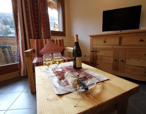 Location au ski Residence Le Criterium - Val Cenis - Coin repas