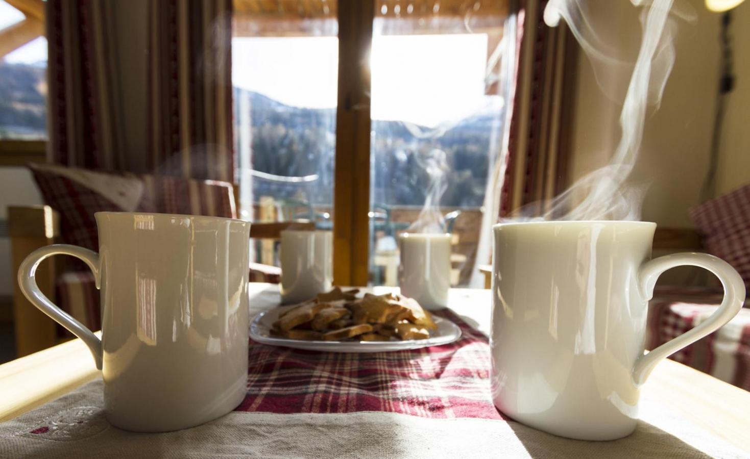 Location au ski Residence Le Criterium - Val Cenis - Table