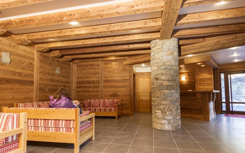 Location au ski Residence Le Criterium - Val Cenis - Réception