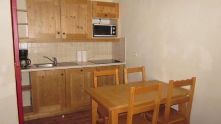 Location au ski Appartement 2 pièces 4 personnes (001) - Residence Les Alpages - Val Cenis - Kitchenette
