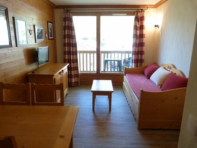 Location au ski Appartement 2 pièces 4 personnes (107) - Residence Les Alpages - Val Cenis - Séjour
