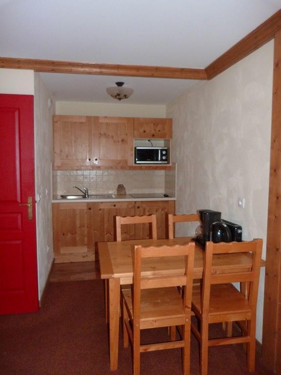 Location au ski Appartement 2 pièces 4 personnes (114) - Residence Les Alpages - Val Cenis - Coin repas