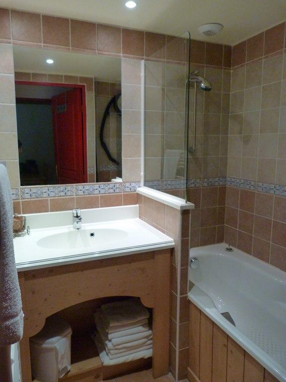 Location au ski Appartement 2 pièces 4 personnes (114) - Residence Les Alpages - Val Cenis - Salle de bains