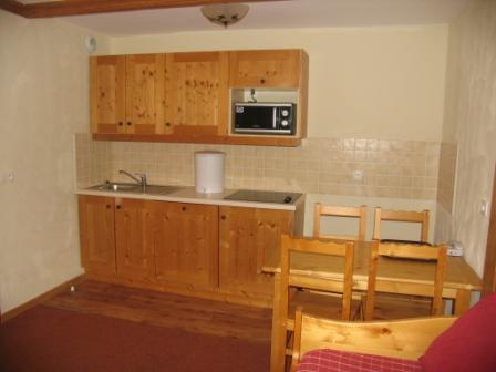 Location au ski Appartement 2 pièces 4 personnes (304) - Residence Les Alpages - Val Cenis - Cuisine ouverte