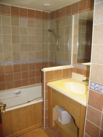 Location au ski Appartement 2 pièces 4 personnes (304) - Residence Les Alpages - Val Cenis - Salle de bains