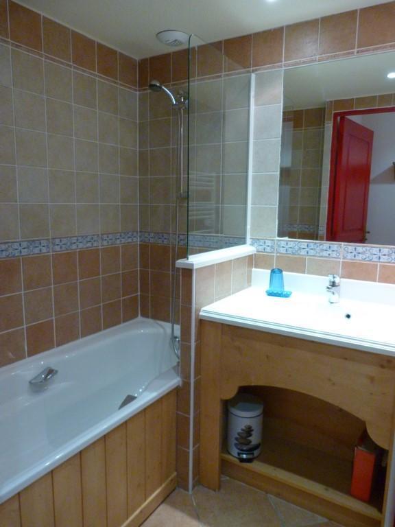 Location au ski Appartement 3 pièces 6 personnes (222) - Residence Les Alpages - Val Cenis - Salle de bains