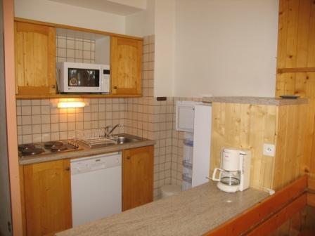 Location au ski Appartement 2 pièces 5 personnes (001) - Residences Du Quartier Napoleon - Val Cenis - Kitchenette