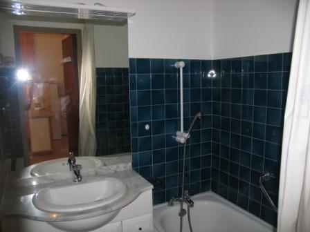 Location au ski Appartement 2 pièces 5 personnes (001) - Residences Du Quartier Napoleon - Val Cenis - Salle de bains