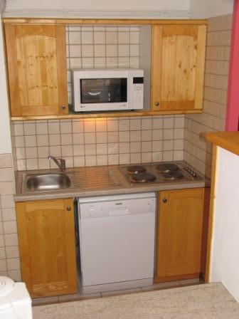 Location au ski Appartement 2 pièces 5 personnes (BO14) - Residences Du Quartier Napoleon - Val Cenis - Kitchenette