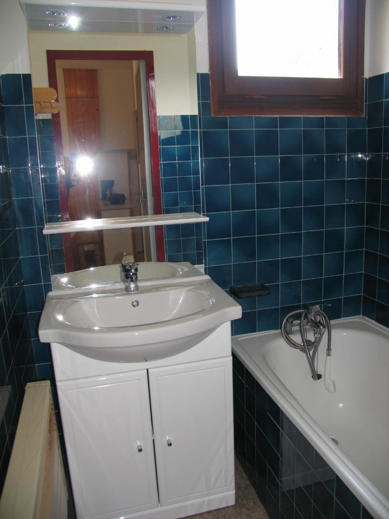 Location au ski Appartement 3 pièces 7 personnes (AR11) - Residences Du Quartier Napoleon - Val Cenis - Salle de bains