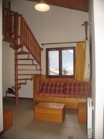 Location au ski Appartement 3 pièces mezzanine 7 personnes (022) - Residences Du Quartier Napoleon - Val Cenis - Séjour