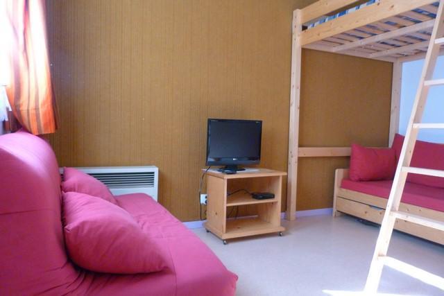 Location au ski Studio 3 personnes (01) - Residences Du Quartier Napoleon - Val Cenis - Chambre