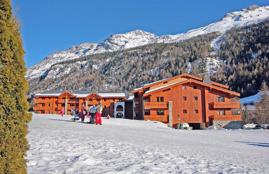Location au ski Les Balcons de Val Cenis le Haut - Val Cenis - Extérieur hiver