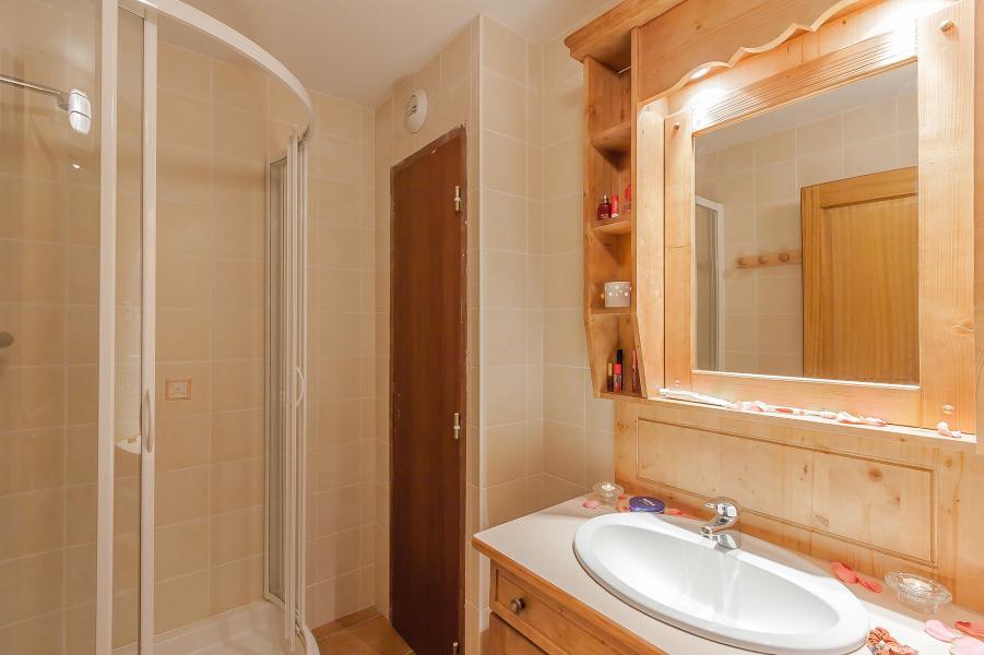 Alquiler al esquí Les Balcons de Val Cenis Village - Val Cenis - Cuarto de baño con ducha