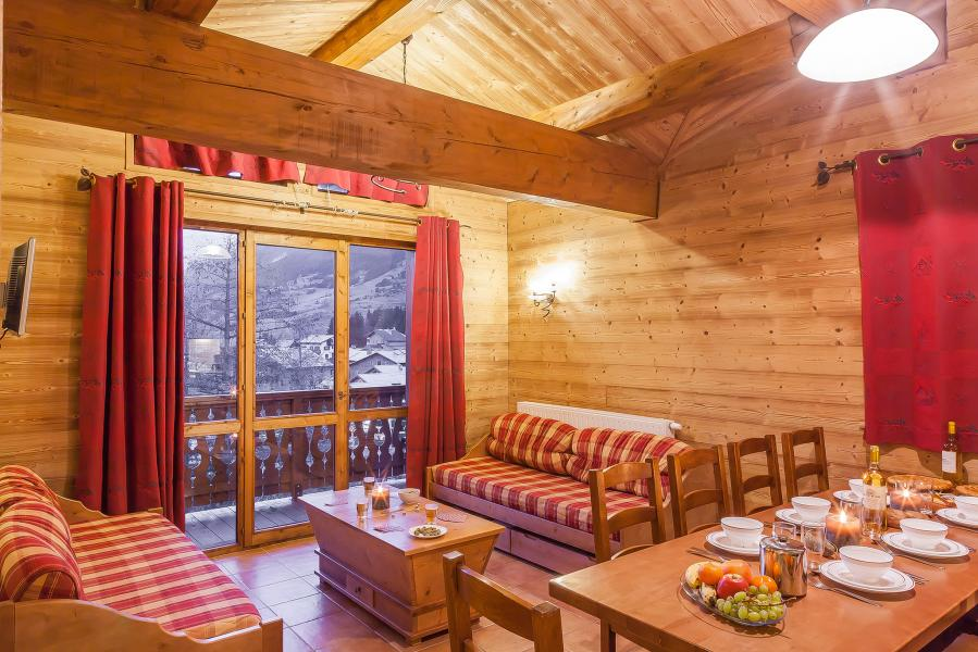 Rent in ski resort Les Balcons de Val Cenis Village - Val Cenis - Living room