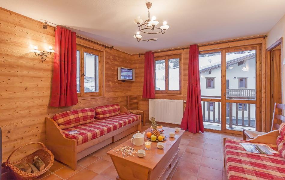 Alquiler al esquí Les Balcons de Val Cenis Village - Val Cenis - Salón