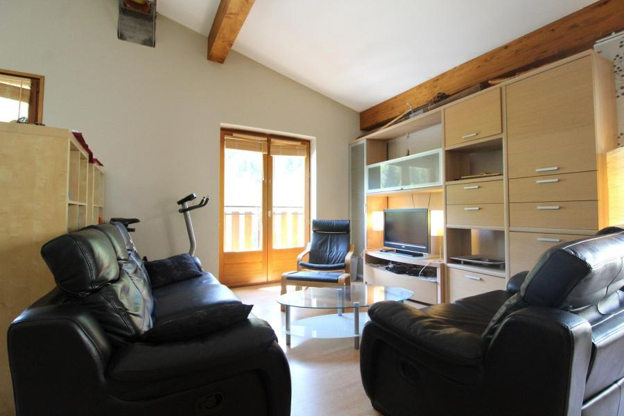 Location au ski Appartement duplex 4 pièces 6 personnes (001) - Maison Gagnière - Val Cenis - Canapé