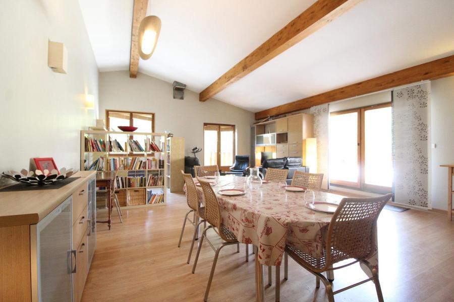Location au ski Appartement duplex 4 pièces 6 personnes (001) - Maison Gagnière - Val Cenis - Séjour