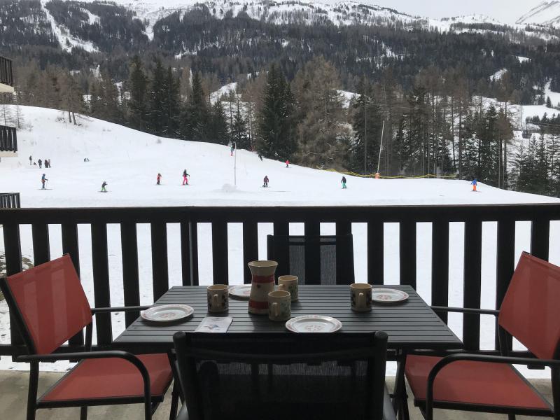 Location au ski Appartement 2 pièces 4 personnes (142) - Résidence Bouvreuil - Val Cenis - Extérieur hiver
